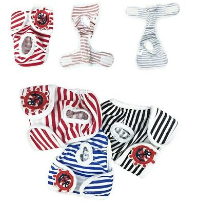 New Dog Pet Female Puppy Diapers Nappy Sanitary Pants Undies Underpants