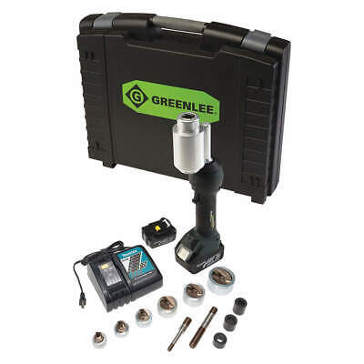 GREENLEE TEXTRON Punch Driver Kit,18.0V,Li-Ion,Cordless, LS100X11SS