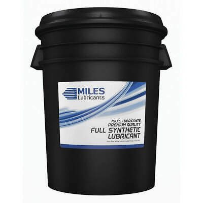 MILES LUBRICANTS Compressor Oil,Pail,5 gal.,6.60 cSt, MSF1554004