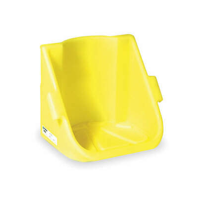 ENPAC Polyethylene Drum Stacker Shelf,17 In. L,22 In. W, 6003-YE, Yellow
