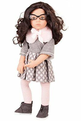 "Gotz Luisa Happy Kidz 19.5"" Poseable Multi-Jointed Limited Edition Brunette D..."