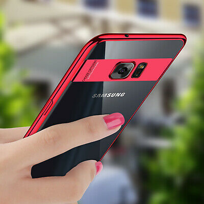 For Samsung Galaxy S8/S7 Edge/Note 8 Shockproof Ultra Thin Soft Clear Case Cover