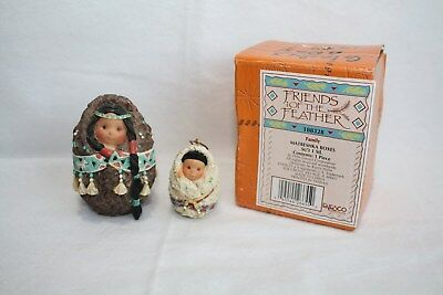 Friends of the Feather Figure Matreshka Boxes Enesco 115681 SHIPS NEXT DAY FREE!