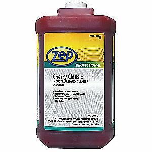 ZEP PROFESSIONAL Hand Cleaner,Liquid,Cherry,1 gal.,PK4, R04860, Red
