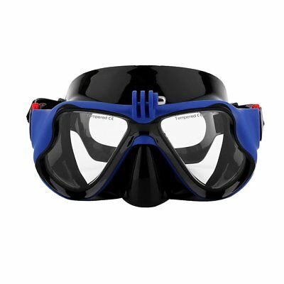 Underwater Camera Plain Diving Mask Scuba Snorkel Swimming Goggles for GoPro BU