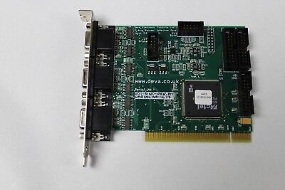 National Instruments Deva Electronics Controls 3 Axis Interface Card