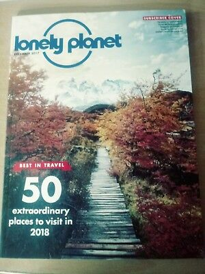 Lonely Planet Magazine December 2017 50 Places To Visit In 2018 Dolomites