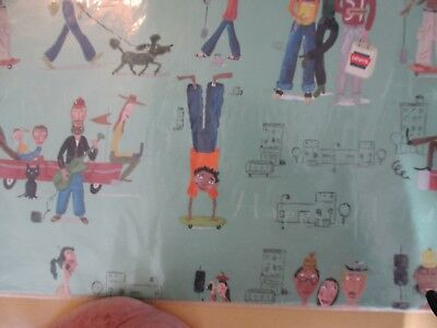 Levi's  Wrapping Paper  Advertising New In Package  J Hartland