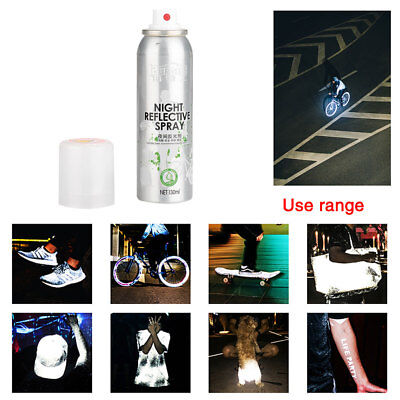 Reflective Spray Paint Reflecting Reflector Safety Anti Accident Riding Bike
