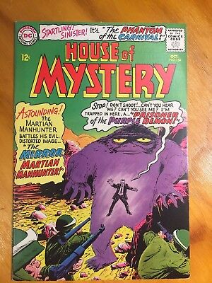 House of Mystery #154 DC Silver Age 1965- Martian Manhunter