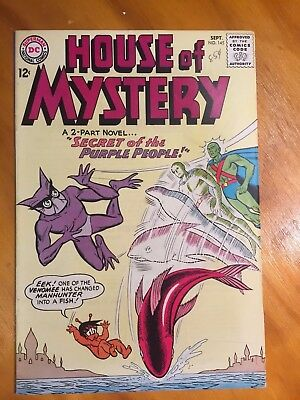 House of Mystery 145 DC Silver Age Sep 1964 VF/NM Joe Certa HIGH GRADE!