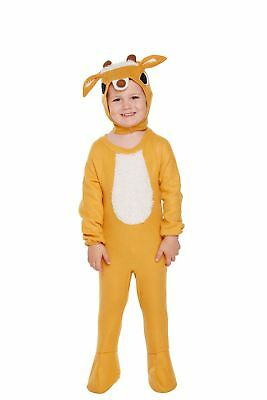 Childrens Boys Girls Rudolph Reindeer Christmas Fancy Dress Costume Outfit Age 3