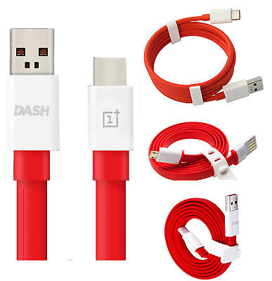 Genuine Original Dash Fast Usb Data Charger Lead Cable For Oneplus One 2 3 5 6
