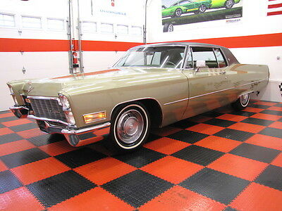 1968 Cadillac DeVille COUPE 72K MILES STUNNING
