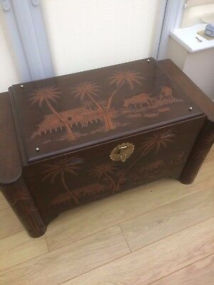 Campher Wood Chest