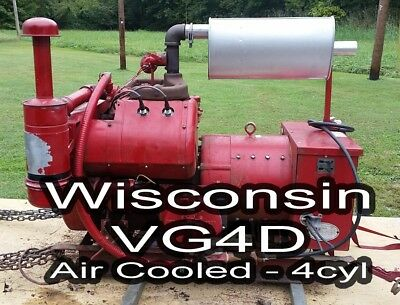 Wisconsin VG4D 3-fuel 17.5 KVA Whole House Generator w/ Auto Transfer Switch