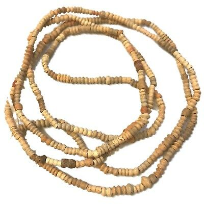 Top Quality Authentic Ancient Egyptian coptic bead necklace 600BC