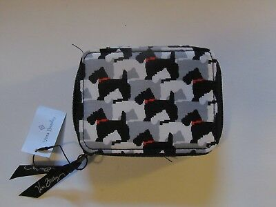 Vera Bradley Travel Pill Case Scottie Dogs - Brand New NWT Discontinued
