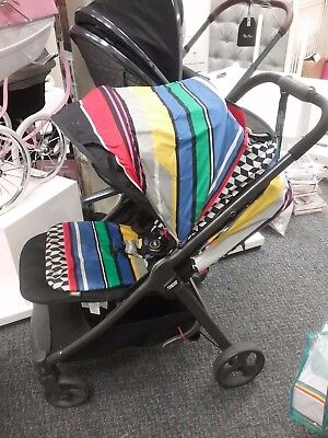 Pre-Loved Mamas & Papas Armadillo Limited Edition Stroller - Candy Striped