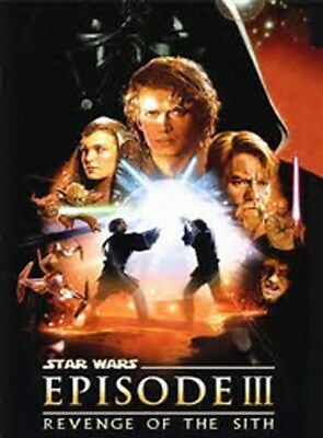 STAR WARS EPISODE III REVENGE OF THE SITH MOVIE POSTER DS ORIGINAL FINAL 27x40