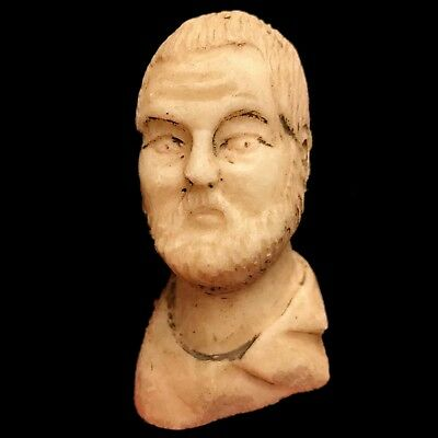 Very Rare HUGE Ancient Roman Male Marble Bust 200-400 AD (NO RESERVE!!)