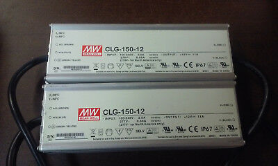 CLG-150-12 Mean Well 12V 132W 11A Power Supply IP67 (90VAC to 295 VAC Input)