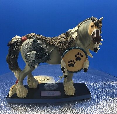 """New Horse of a Different Color """"Wolf Spirit"""" Figurine #20332 Westland -No Box"""