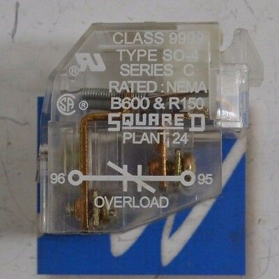 Square D 9999 SO-4 - USED