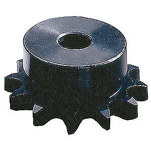 TSUBAKI Carbon Steel Sprocket,Plain,#50,OD 7.120 In, 50B34