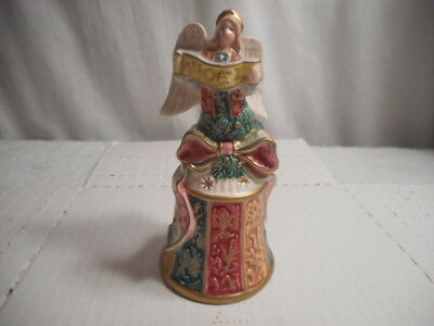 Vintage Fitz and Floyd Damask Angel Series Bell - New w. Tags