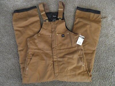 Walls mens large tall insulated bib overalls New with tag LT