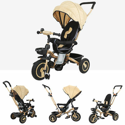 dreirad 4in1 kinderdreirad baby kinderfahrrad mit dach. Black Bedroom Furniture Sets. Home Design Ideas