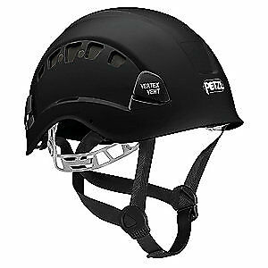 PETZL Rescue Helmet,Black,6 Point, A10VNA, Black