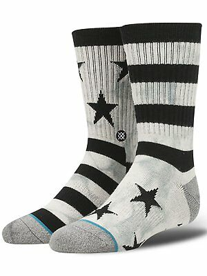 Stance Sidereal Classic Light Boy's Crew Sock - Large - B526A17SID-GRY