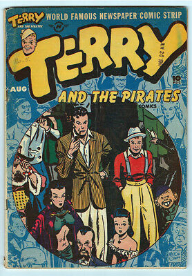 Terry and the Pirates Comics #5 (Aug 1947, Harvey)