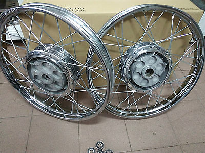 Wheels ZÜNDAPP KS50 PAIR OF HUBS-NABE-TOP CONDITION 150mm Polished