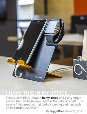 New Apple Watch iPhone Charging Charger Stand Dock Station For iWatch And Black