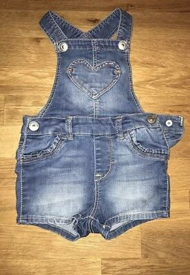 Girls clothes Dungarees  4-6 months