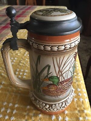 Gerz Stein 94% Zinn Mallard duck design fishing hunting NEW