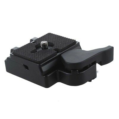 RC2 System Quick Release Adapter for Manfrotto 200PL-14 QR Plate Black L6X9