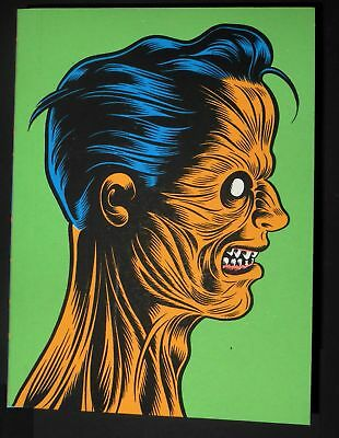 charles burns mini-comic compilation book free sh*t limited edition zine book