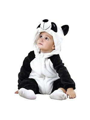 PANDA Bear Jumper Winter One-piece Infant Costume Holiday party Size 0-6 Months