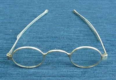 Antique Pair Of Georgian Silver Spectacles London 1819