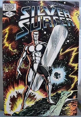 Silver Surfer # 1 One-Shot Issue by John Byrne 1982.