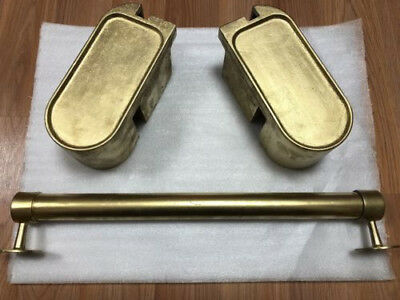 Tapper Arcade 'Brass' drink holders and footrail