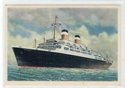 S.S. INDEPENDENCE: American Export Lines shipping postcard (C31081)