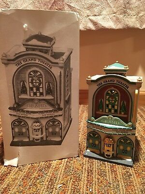 Dept 56 Christmas in the City Grand Movie Theater #58870