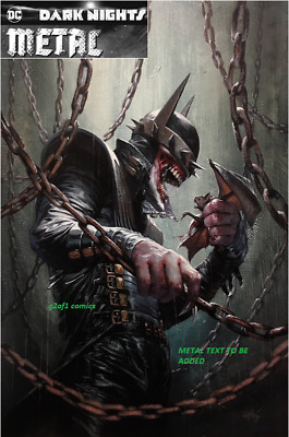 Dark Nights Metal #5 Dell'otto Color Variant Batman Who Laughs Limited 3000
