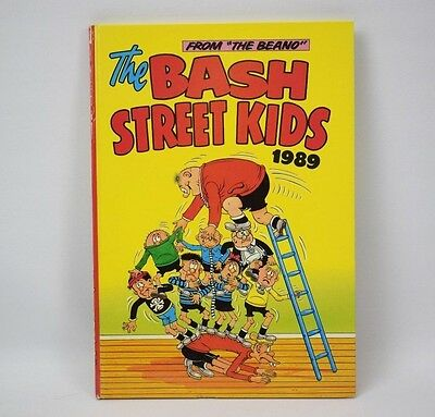 The Bash Street Kids Annual From The Beano Vintage 1989 DC Thomson