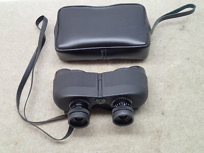 Steiner Wards 8 x 30 Vintage Binoculars Made in W. Germany Nice with Case But